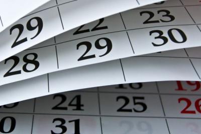 calendrier des Stages