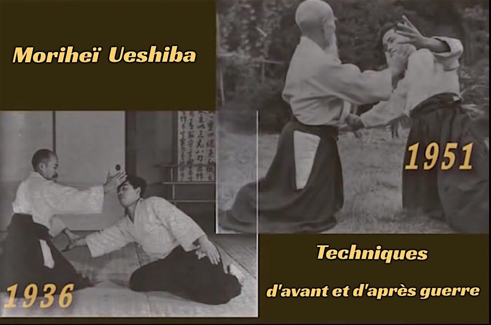 Moriheï Ueshiba - Comparaison Technique